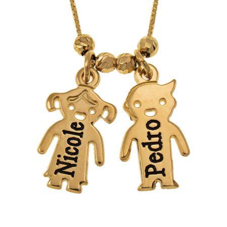 Gravierte Kinder-Halskette