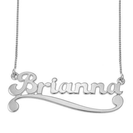 Personalisierte Namen Halskette