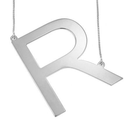 Große Initialen-Halskette