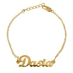 Dainty Name Armband gold