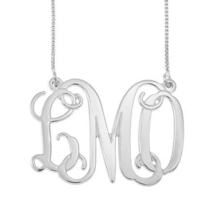 Monogramm 3 Initialen Halskette