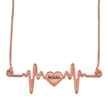 Halskette mit meinem Herzschlag Name