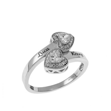 Doppelherz-Ring