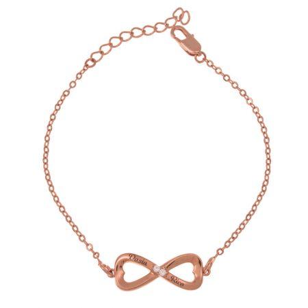 Inlay Infinity-Armband