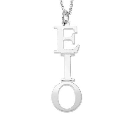Griechisches vertikales Halskette