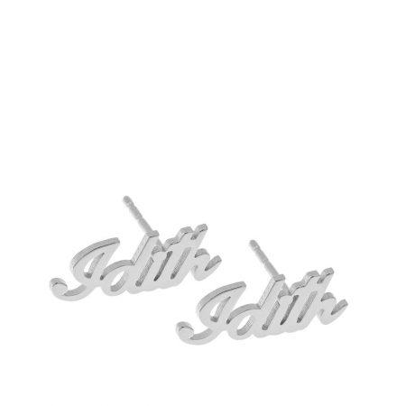 Personalisierte Namensschmuck-Ohrstecker