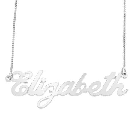 Carrie Style Box Name Halskette