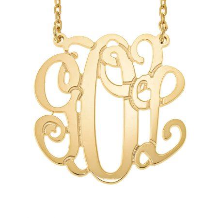 Monogramm-Halskette