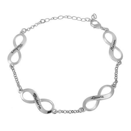 Multiple Infinity-Mutterarmband