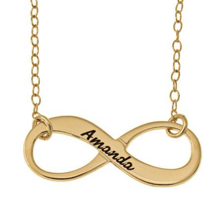 Vintage Name Infinitye Halskette