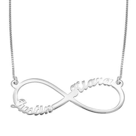 Infinity 2 Namen-Halskette