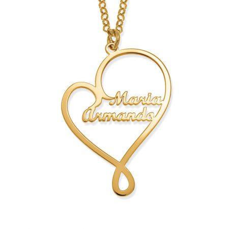 Halskette mit Liebesnamen